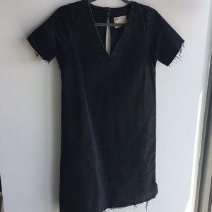 ASOS Black Denim Dress